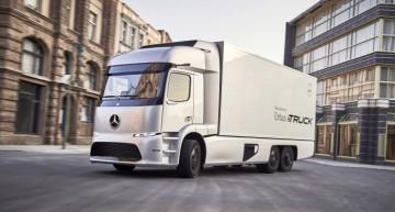 Primul camion electric de serie Mercedes sosește anul acesta