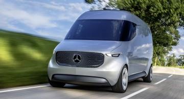 Van-ul viitorului: conceptul electric Mercedes Vision Van