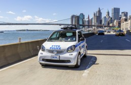 Poliția din New York a comandat 250 de smart-uri fortwo