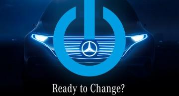 Bate vânt de schimbre – Mercedes promovează mașina electrică pe care o va lansa la Paris