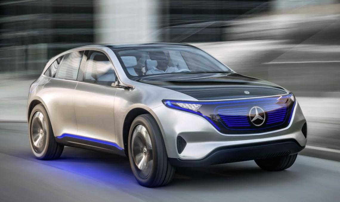Conceptul electric Generation EQ, SUV compact cu autonomie de 500 km
