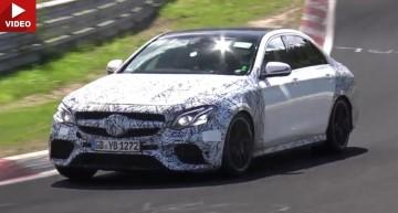 Noul Mercedes-AMG E 63 se dezlănțuie pe Nurburgring