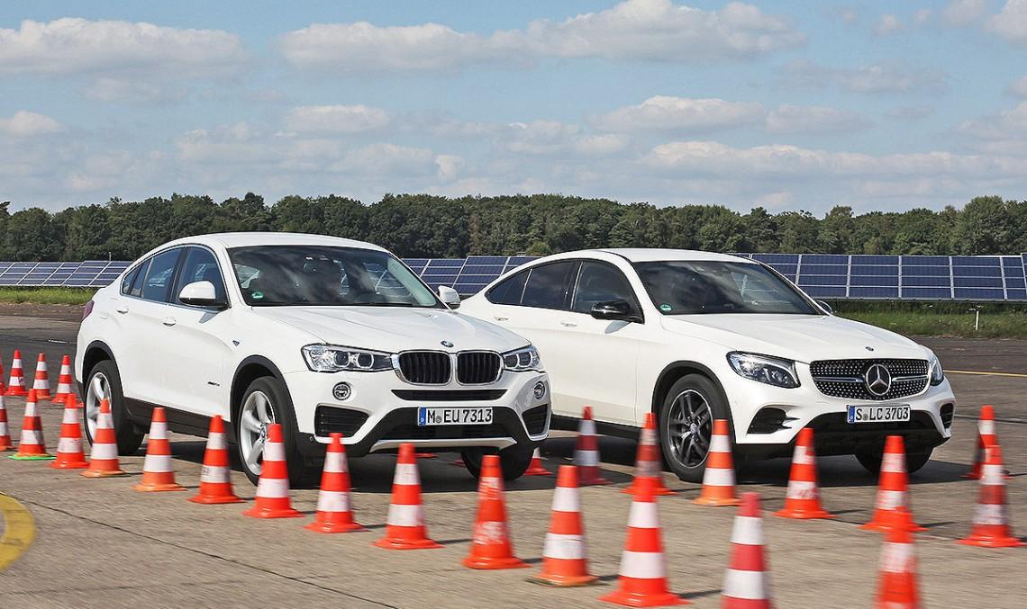 Și cel mai bun SUV Coup este… Mercedes GLC Coupe vs BMW X4