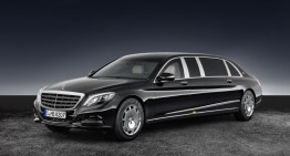 Protecție de elită: Mercedes-Maybach S 600 Pullman Guard
