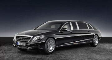 Protecție de elită: Mercedes-Maybach S 600 Pullman Guard