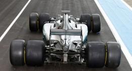 Formula 1 2017: TEST MERCEDES CU ANVELOPE PIRELLI