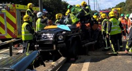 Accident Pape Souare: un G-Class îi salvează viața unui jucător din Premier League
