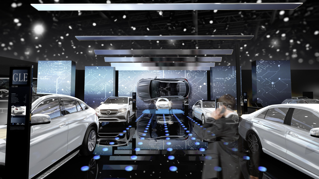 Mercedes-Benz Cars auf dem Pariser Automobilsalon 2016: Elektromobilität im Fokus ; Mercedes-Benz Cars at the 2016 Paris Motor Show: Electric mobility in the spotlight;