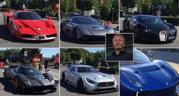 Miliardarul Roman Abramovici se dă mare cu supermașinile sale