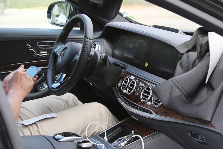 Mercedes S-Class facelift 2018
