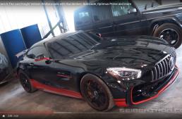Vedeta din Transformers, Mercedes-AMG GT R, pozează pentru fani