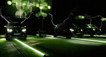 Smart electric drive devine vedetă la Festivalul Luminilor de la Berlin