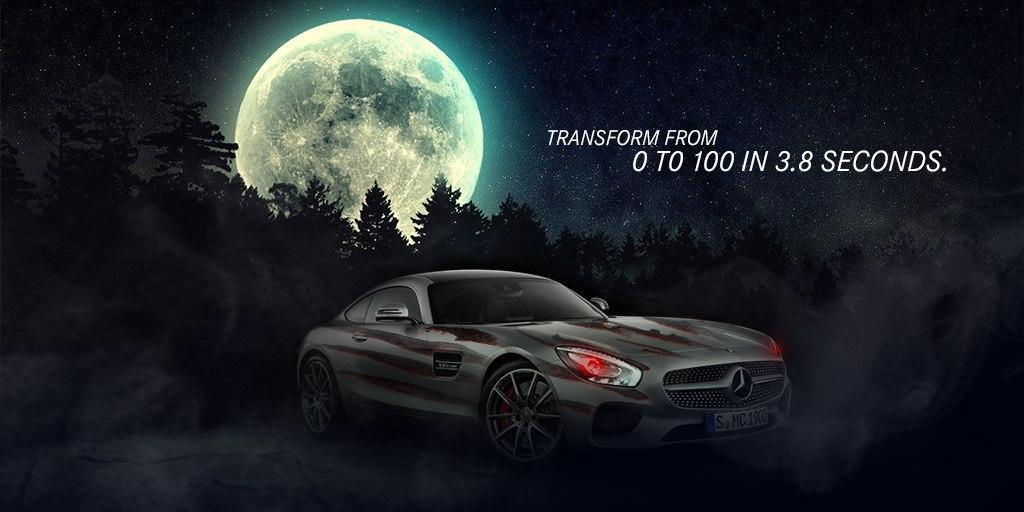 Mercedes-Benz sărbătorește Halloween – Ne dați ori nu ne dați?