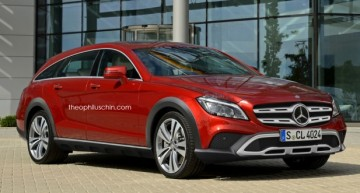 Simulare digitală – CLS Shooting Brake renaște ca model All-Terrain