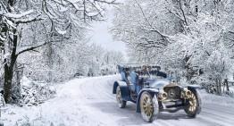 Mașina timpului – Calendar cu mașini clasice Mercedes-Benz