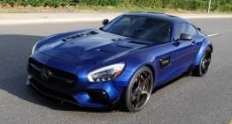 Bruta albastră: Mercedes-AMG GT S tunat de Prior Design