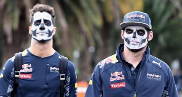 Ziua în care motorsportul a luat-o razna de tot! Piloții au apărut cu machiaj de Halloween