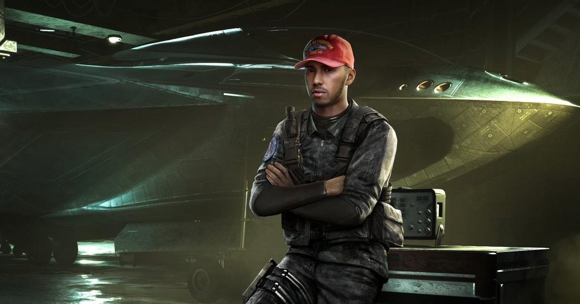 Lewis Hamilton joacă în Call of Duty: Infinite Warfare