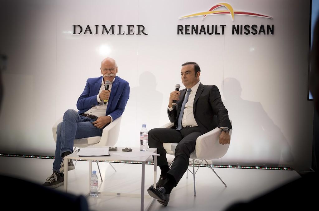 Daimler intensifică parteneriatul cu Renault-Nissan