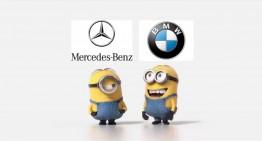Cine râde la urmă? Minionii se ceartă pe mașini!