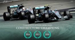 Mercedes-AMG PETRONAS ia titlul la Constructori!