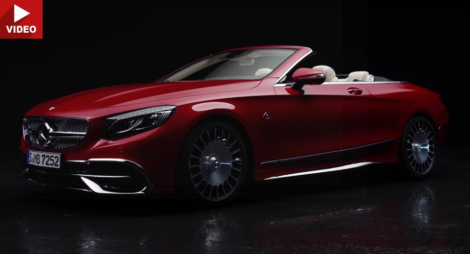 Mercedes-Maybach S 650 Cabriolet își face debutul video