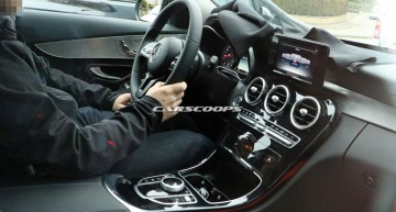 Interiorul noului Mercedes C-Class facelift 2018 dezvăluit