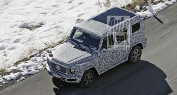 Noul Mercedes G-Class 2018 spionat în Alpi