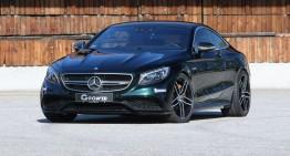 Sete de putere – Mercedes-AMG S63 Coupe de la G-Power