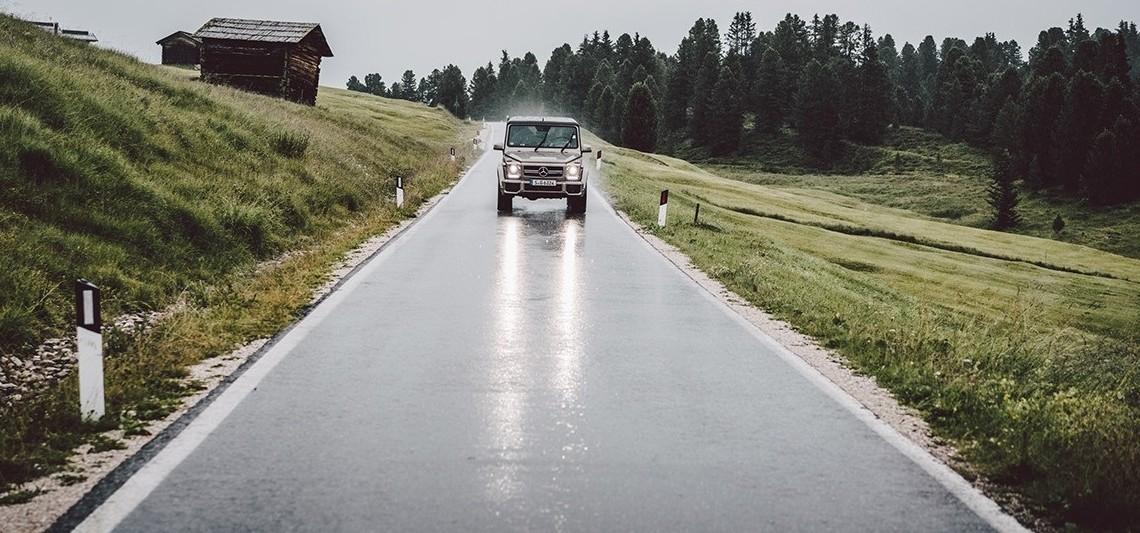 În numele aventurii – Mercedes-Benz G-Class în Munții Dolomiți