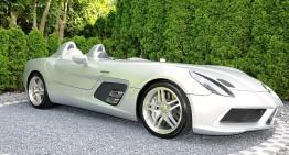 Mercedes-Benz SLR McLaren Stirling Moss foarte rar – de peste 3 ori mai scump ca nou