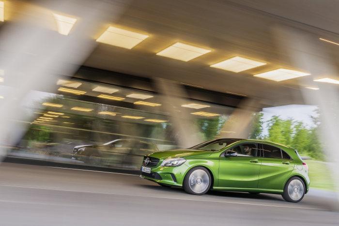October record Mercedes-Benz A-Class