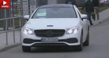 Mercedes-Benz E-Class Coupe 2018  surprins aproape fără camuflaj