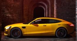 Mercedes-AMG GT4: Supercar-ul cu patru uși vine în 2019