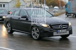 Mercedes C-Class se pregătește pentru un facelift major