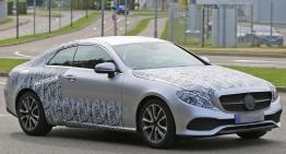 Lansarea noului Mercedes E-Class Coupe confirmată pentru Detroit