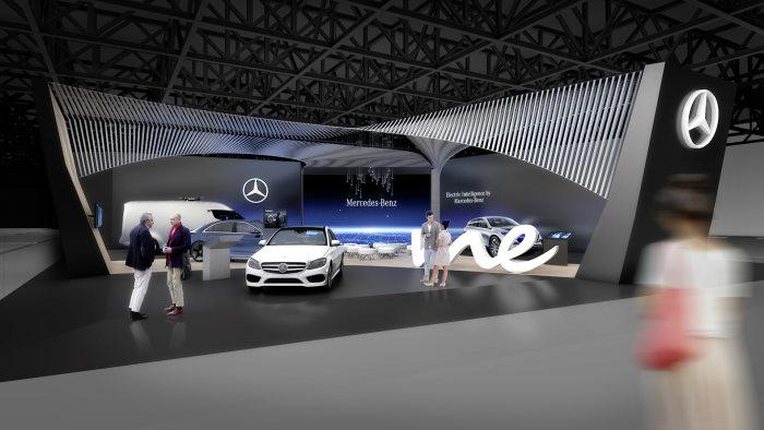 În lumina reflectoarelor: Mercedes-Benz va fi la CES 2017