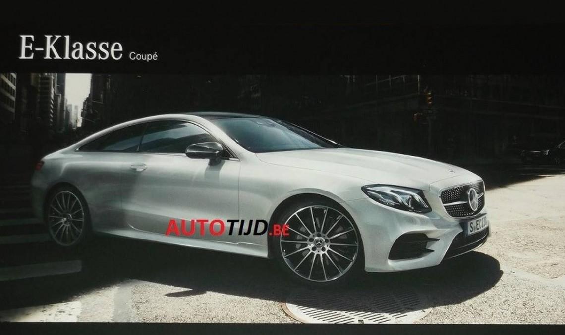 Noul Mercedes E-Class Coupe, dezvăluit în fotografii oficiale