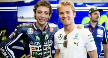 Ce nebunie ar fi! Valentino Rossi în locul lui Nico Rosberg la Mercedes?