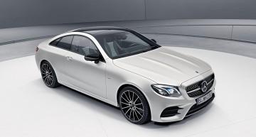 Modelul de lansare Mercedes E-Class Coupe Edition 1 limitat la 555 de unități