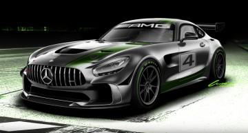 Bestie în lucru – Un nou Mercedes-AMG GT4 e pe drum