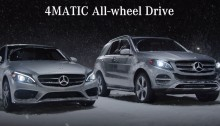 Mercedes-Benz 4MATIC all wheel drive