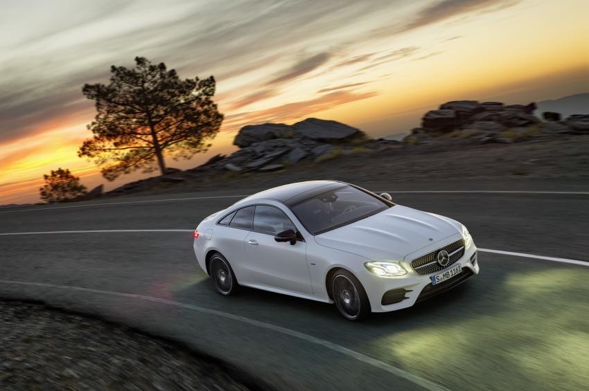 Mercedes-Benz E-Class Coupe II (5)