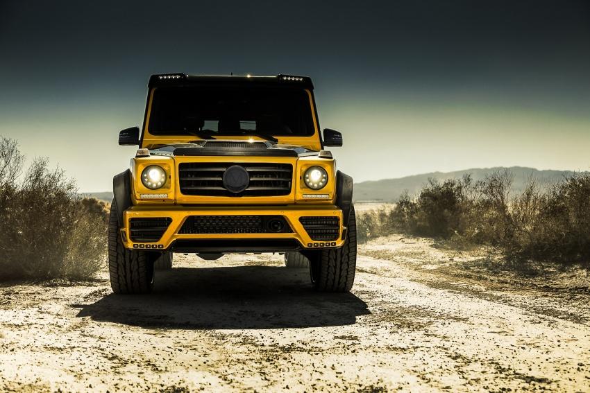 Regele deșertului – Mercedes-Benz G-Class tunat de Mansory
