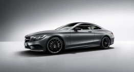 Cavalerul negru – Mercedes-Benz S-Class Coupe Night Edition