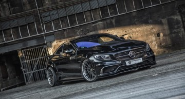 Dragonul Mercedes-Benz S-Class Coupe de la Prior Design scoate foc pe nări