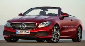 Noul Mercedes E-Class Cabrio. Ți-ar plăcea?