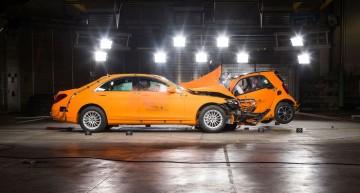 Mercedes a deschis cel mai modern centru de teste de impact din lume