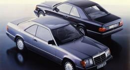 Mercedes-Benz E-Class Coupe Seria 124 sărbătorește a 30-a aniversare