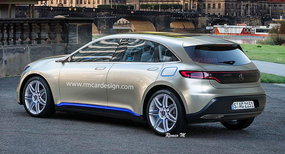 Dacă prima mașină electrică Mercedes-EQ ar fi un hatch?